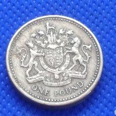 Monedas antiguas de Europa: INGLATERRA 1 POUND 1983 REINO UNIDO GRAN BRETAÑA. Lote 171837707