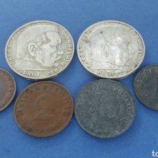 Monedas antiguas de Europa: LOTE DE MONEDAS ALEMANIA 1937-1944. Lote 172057829