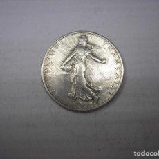 Monedas antiguas de Europa: FRANCIA , 1 FRANCO DE PLATA DE 1912. . Lote 172095395