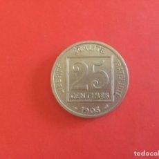 Monedas antiguas de Europa: FRANCIA 25 CENTIMES 1903. Lote 172147543