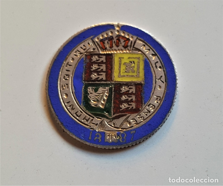 Monedas antiguas de Europa: GRAN BRETAÑA MONEDA DE PLATA 1887 VICTORIA PENCE - Foto 2 - 178192652
