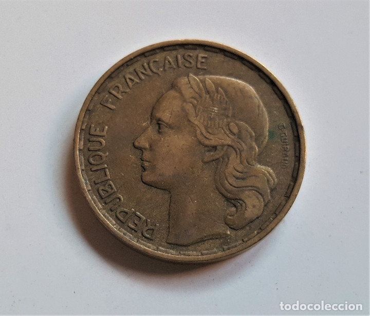 FRANCIA 50 FRANCS 1953 (Numismática - Extranjeras - Europa)