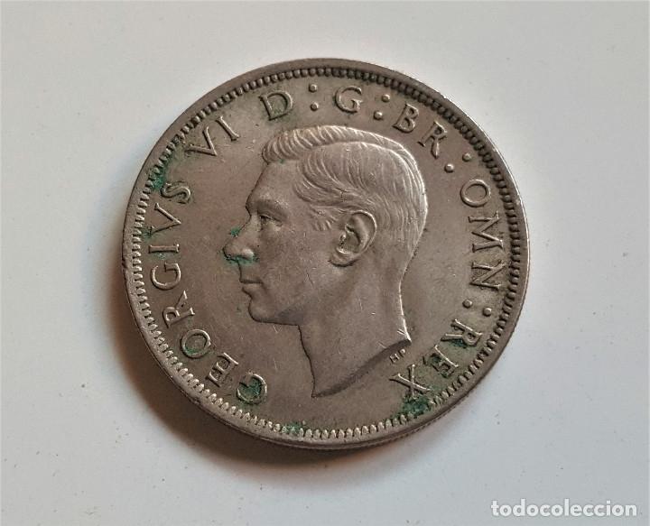 Monedas antiguas de Europa: GRAN BRETAÑA HALF CROWN 1948 - Foto 2 - 172580632