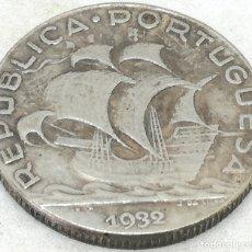 Monedas antiguas de Europa: RÉPLICA MONEDA 5 ESCUDOS. 1932. PORTUGAL. RARA. Lote 172641180
