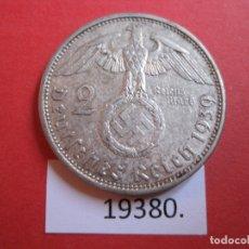 Monedas antiguas de Europa: ALEMANIA 2 REICHSMARK 1939 A, PLATA, MARCOS, NAZI. Lote 172918477