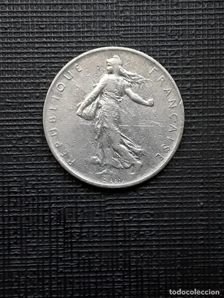 Monedas antiguas de Europa: FRANCIA 1 Franc 1960 Km925.1 - Foto 2 - 173090780