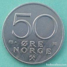 Monedas antiguas de Europa: NORUEGA - 50 OERE 1980 - MBC+ - TAMBIÉN MIRE MIS OTRAS SUBASTAS Y AHORRE COSTES DE ENVÍO. Lote 173090984