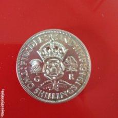 Monedas antiguas de Europa: TWO SHILLINGS JORGE IV 1946. Lote 173123755