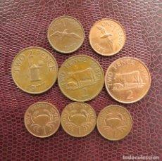 Monedas antiguas de Europa: GUERNSEY 8 MONEDAS TODAS DIFERENTES 1 2 PENNY 1977 - 2006. Lote 173391363