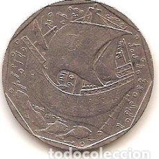Monedas antiguas de Europa: PORTUGAL,50 ESCUDOS 1991.. Lote 173529840