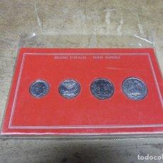 Monedas antiguas de Europa: ITALIA SERIE IMPERIO 1940 EN CARTÓN.. Lote 173589568