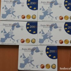 Monedas antiguas de Europa: ALEMANIA JUEGO EUROS 5 SETS 2005 PROOF. Lote 173658523