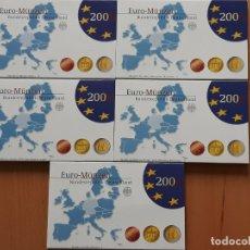 Monedas antiguas de Europa: ALEMANIA JUEGO EUROS 5 SETS 2006 PROOF CON 2 MONEDAS DE 2 EUROS. Lote 173658767