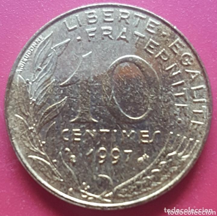 FRANCIA 10 CENTIMOS 1997 - ENVIÓ GRATIS A PARTIR DE 35€ (Numismática - Extranjeras - Europa)