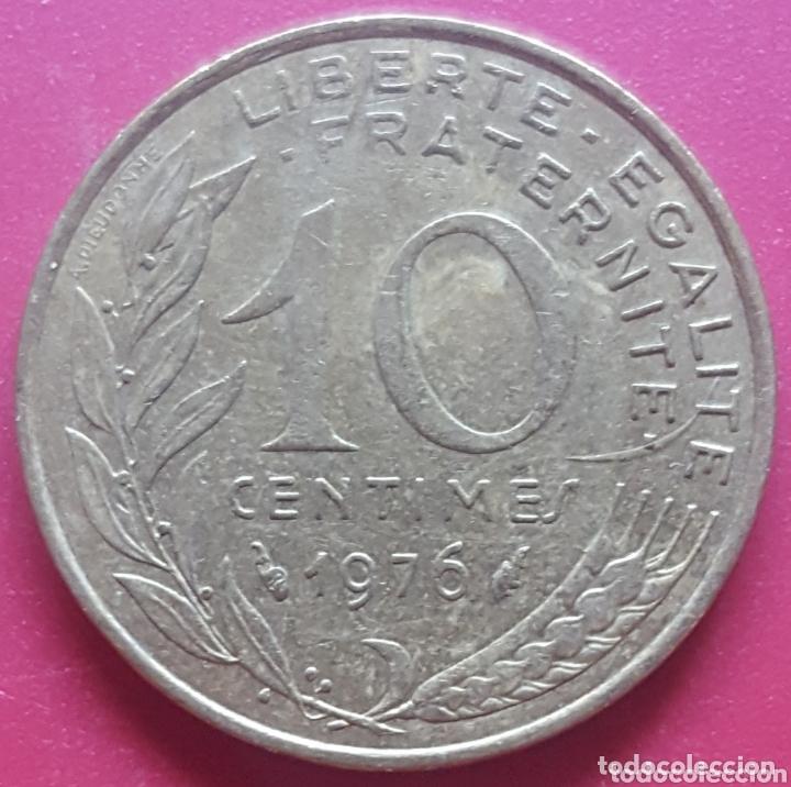 FRANCIA 10 CENTIMOS 1976 - ENVIÓ GRATIS A PARTIR DE 35€ (Numismática - Extranjeras - Europa)
