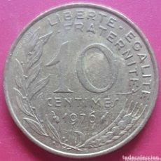 Monedas antiguas de Europa: FRANCIA 10 CENTIMOS 1976 - ENVIÓ GRATIS A PARTIR DE 35€. Lote 173821822