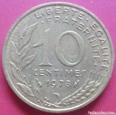 Monedas antiguas de Europa: FRANCIA 10 CENTIMOS 1978 - ENVIÓ GRATIS A PARTIR DE 35€. Lote 173821840