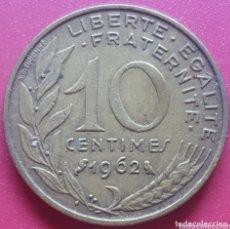 Monedas antiguas de Europa: FRANCIA 10 CENTIMOS 1962 - ENVIÓ GRATIS A PARTIR DE 35€. Lote 173821863