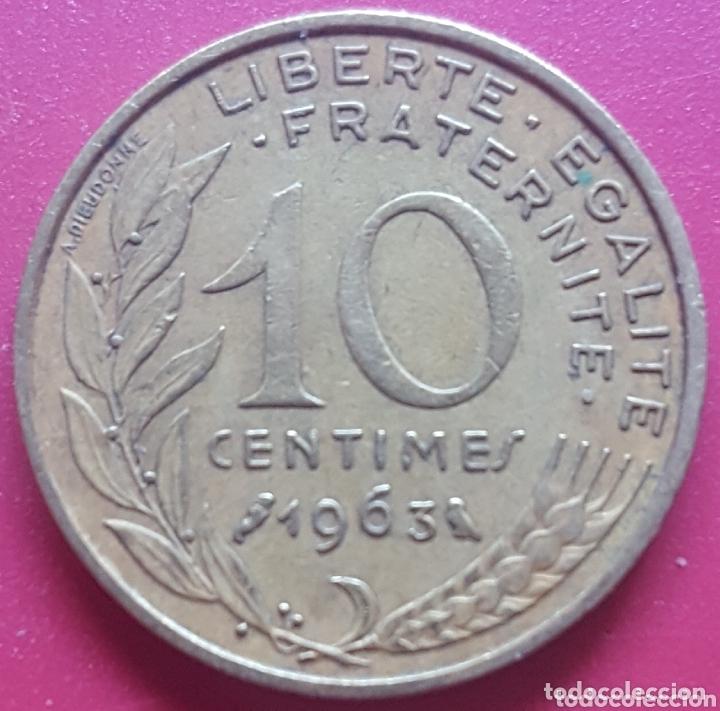 FRANCIA 10 CENTIMOS 1963 - ENVIÓ GRATIS A PARTIR DE 35€ (Numismática - Extranjeras - Europa)