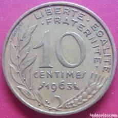 Monedas antiguas de Europa: FRANCIA 10 CENTIMOS 1963 - ENVIÓ GRATIS A PARTIR DE 35€. Lote 173821878