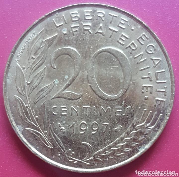 FRANCIA 20 CENTIMOS 1997 - ENVIÓ GRATIS A PARTIR DE 35€ (Numismática - Extranjeras - Europa)