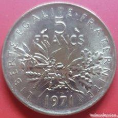 Monedas antiguas de Europa: FRANCIA 5 FRANCOS 1971 - ENVIÓ GRATIS A PARTIR DE 35€. Lote 173822037
