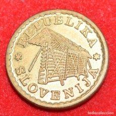 Monedas antiguas de Europa: ESLOVENIA, 0,02 LIPE 1992. Lote 173945473