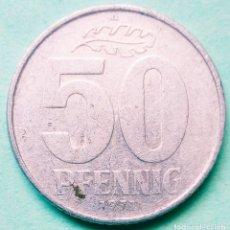 Monedas antiguas de Europa: ALEMANIA ORIENTAL - GDR - 50 PFENNIG 1971 - MBC - MIRE MIS OTROS LOTES AHORRE GASTOS. Lote 173974069