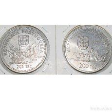 Monedas antiguas de Europa: PORTUGAL, 2 MONEDAS: 200 ESCUDOS 1999 (DUARTE PACHECHO PEREIRA) - 200 ESCUDOS 1998 (MOZAMBIQUE). Lote 174049389