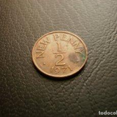 Monedas antiguas de Europa: GUERNSEY 1/2 PENIQUE 1971. Lote 174188013