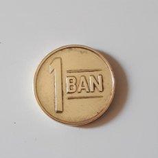 Monedas antiguas de Europa: MONEDA RUMANIA - 1 BAN 2016. Lote 174495660