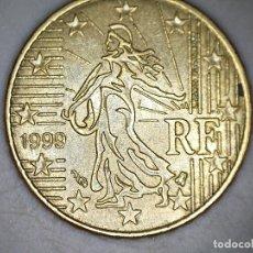 Monedas antiguas de Europa: 10 CENTIMOS CENT EURO FRANCIA 1999 CIRCULADA - MONEDAS USADAS. Lote 174584333