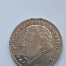 Monedas antiguas de Europa: MONEDA ALEMANIA - 2 MARCOS 1990 - REP. FEDERAL. Lote 174859935