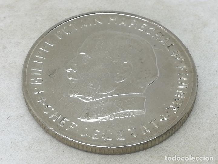 Monedas antiguas de Europa: RÉPLICA PRUEBA. Moneda 5 Francos. 1942. Mariscal Petain. Estado Francés, Francia, Vichy. II Guerra M - Foto 2 - 174967295