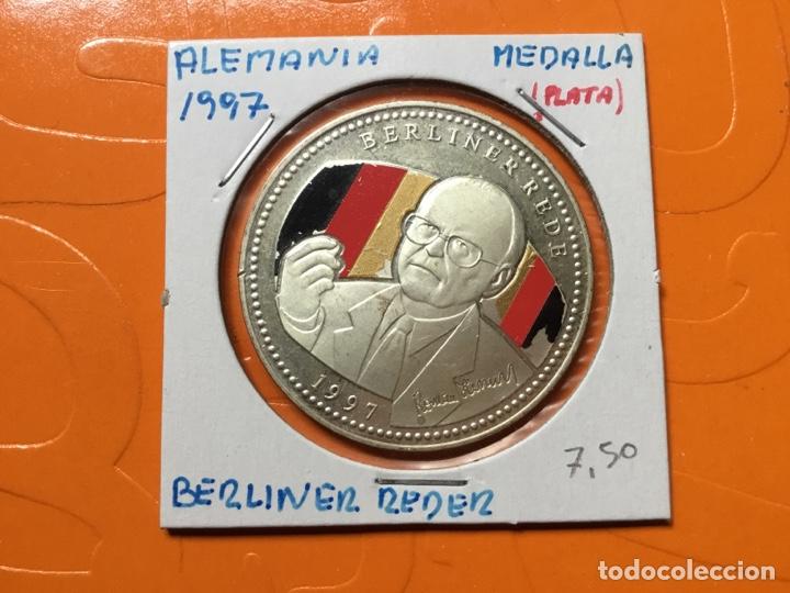 583 )ALEMANIA,,MEDALLA,,1997,,BERLINER REDER,,PLATA,, EN ESTADO NUEVO SIN CIRCULAR (Numismática - Extranjeras - Europa)
