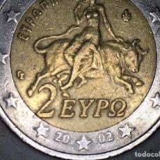 Monedas antiguas de Europa: 2 EUROS EURO GRECIA 2002 CIRCULADA - MONEDAS USADAS. Lote 175286273