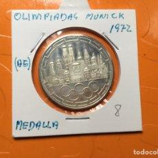 Monedas antiguas de Europa: 571 ) MEDALLAS, OLIMPIADAS MUNICK 1972 ,,PLATA,,NUEVAS SIN CIRCULAR,,. Lote 123199878
