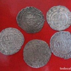 Monedas antiguas de Europa: HUNGRIA. LOTE DE 5 MONEDAS DE 1 DENAR DE VELLON ANTIGUAS.1611 1614 Y 1617. Lote 175393690