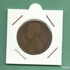 Monedas antiguas de Europa: INGLATERRA. PENNY 1886 MBC. REINA VICTORIA. Lote 175708309