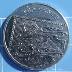 Monedas antiguas de Europa: GRAN BRETAÑA - 10 PENCE 2011 - EBC - POR FAVOR LEA EL TEXTO, GRACIAS. Lote 175807979