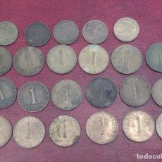 Monedas antiguas de Europa: AUSTRIA: LOTE DE 23 MONEDAS DE 50 GROSCHEN Y 1 CHELIN (AÑOS 50 A 80). Lote 175875149