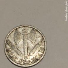 Monedas antiguas de Europa: FRANCIA MONEDA DE 1 FRANCO 1942. RARA MBC VER FOTO. Lote 175914140