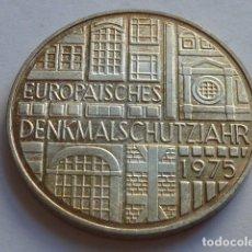 Monedas antiguas de Europa: MONEDA D PLATA DE 5 MARCOS DE ALEMANIA DE 1975 F, CECA STUTTGART, PESA 11,2 GRS,PAISES DE EUROPA. Lote 176092104