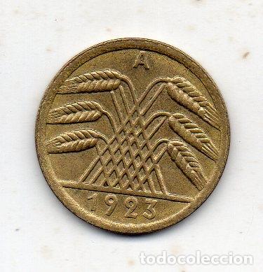 ALEMANIA. 50 RENTENPFENNIG. AÑO 1923 A. SIN CIRCULAR . (Numismática - Extranjeras - Europa)