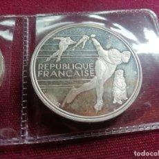 Monedas antiguas de Europa: FRANCIA. 100 FRANCOS DE PLATA. JUEGOS OLÍMPICOS DE INVIERNO DE ALBERTVILLE 1992. Lote 176266395