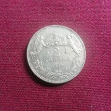 Monedas antiguas de Europa: AUSTRIA. 2 CORONAS DE PLATA DE 1912. Lote 176266512