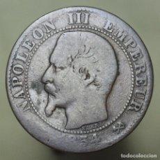 Monnaies anciennes de Europe: 5 CENTIMOS FRANCIA 1854 B. Lote 176305154