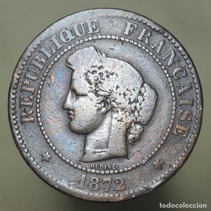 5 CENTIMOS FRANCIA 1872 K (Numismática - Extranjeras - Europa)