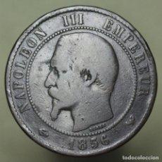 Moedas antigas da Europa: 10 CENTIMOS FRANCIA 1856 W. Lote 176305779