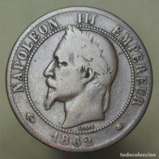 Monnaies anciennes de Europe: 10 CENTIMOS FRANCIA 1862 A. Lote 176305869